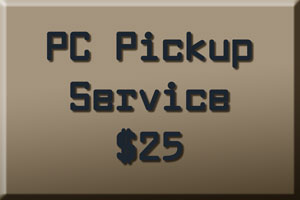 PC pick up service
